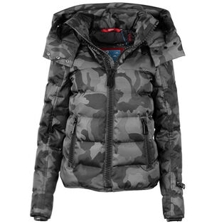 Women's Camo Quilted Jacket