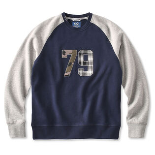 Men's Patches Crew Sweatshirt