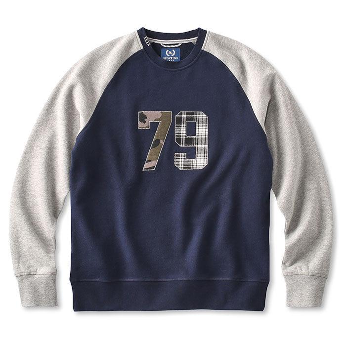 Men's Patches Crew Sweatshirt