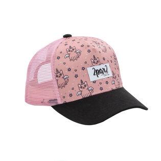 8e8effb3dd2 Girls   3-6  Unicorn Trucker Hat ...