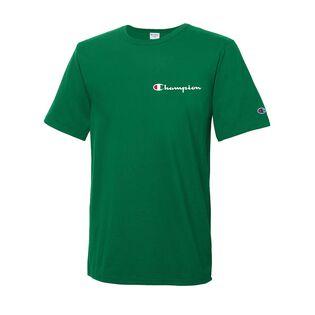 Men's Embroidered Script Logo T-Shirt