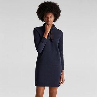 Women's Textured Sweatshirt Dress