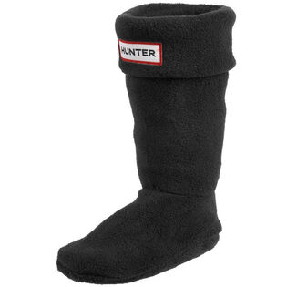 Junior Fleece Welly Socks Black