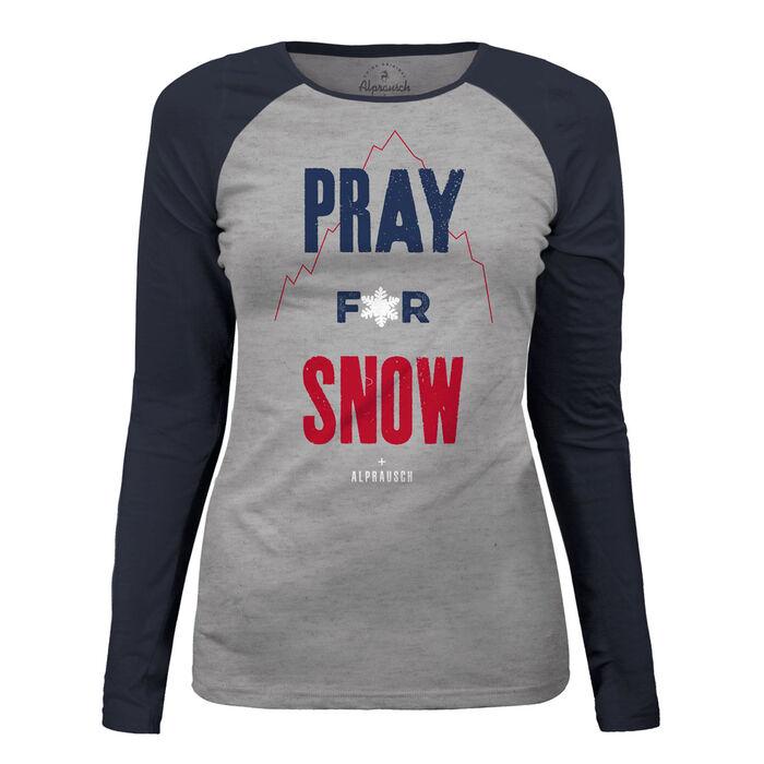 Women's Pray For Snow T-Shirt