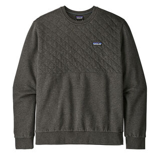 Men's Organic Quilt Crew Sweatshirt