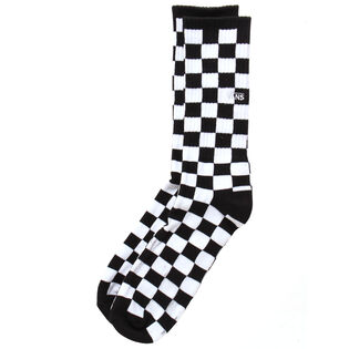 Men's Checkboard Crew Sock