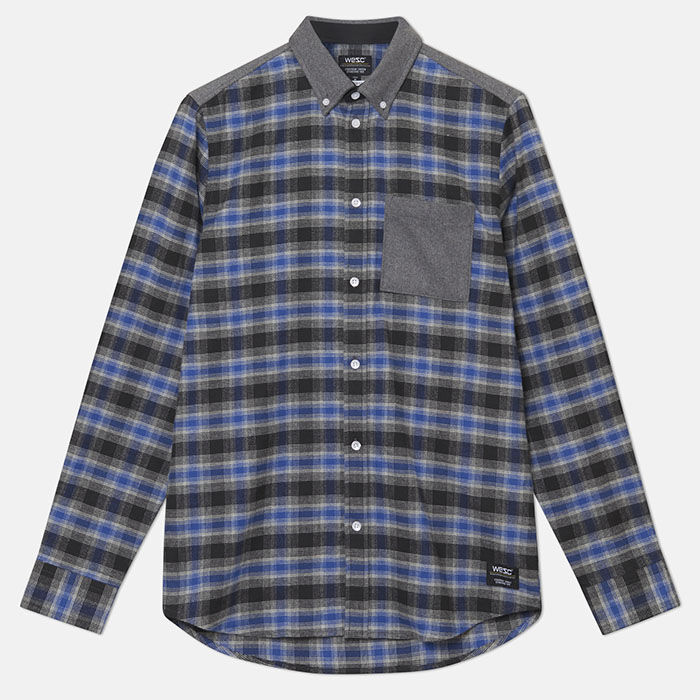 Men's Olavi Shadow Plaid Shirt