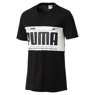 Men's Graphic Logo Block T-Shirt