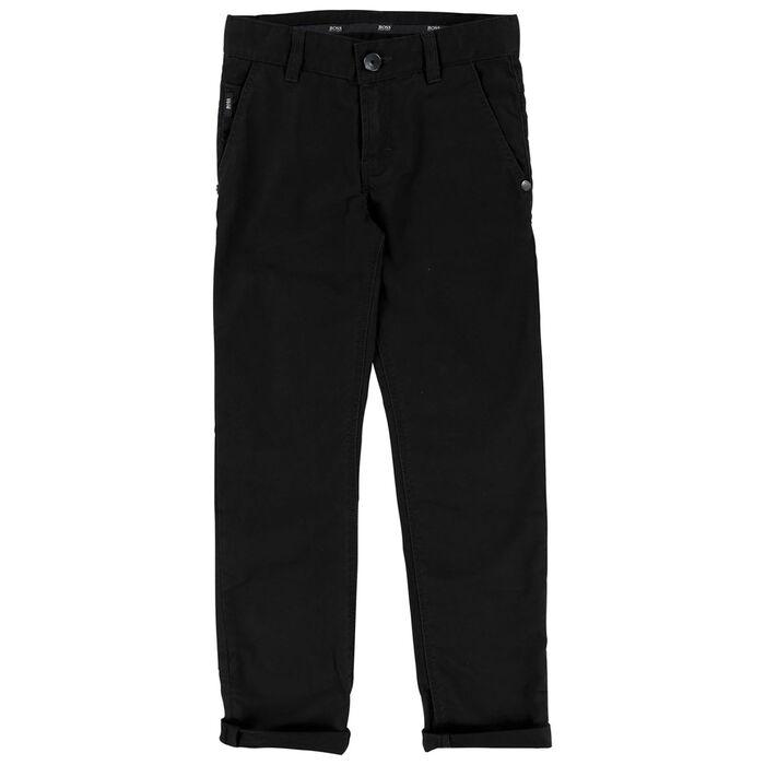 Pantalon en sergé de coton pour garçons juniors [4-16]