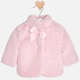 Baby Girls' [3-12M] Faux Fur Coat