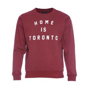 Unisex Home Is Toronto Varsity Sweater