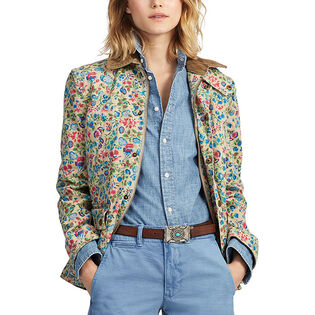Women's Floral Canvas Barn Jacket