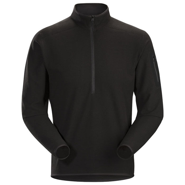 Men's Delta LT Zip Neck Top