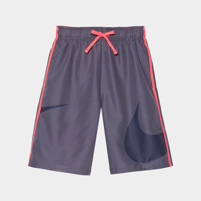 8ab4e2fd37 Junior Boys' [8-16] Macro Logo Diverge Swim Trunk | Nike | Sporting ...
