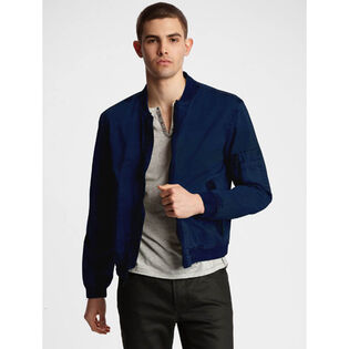 Men's Modern Bomber Jacket