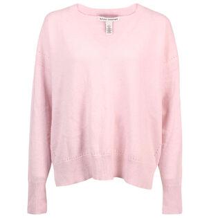 Women's Relaxed V-Neck Sweater