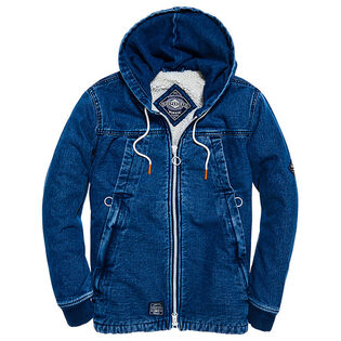 Men's Hooded Worker Jacket