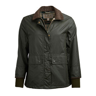 Women's Tawny Waxed Cotton Jacket