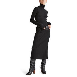 Women's Jersey Turtleneck Dress