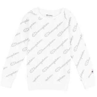 Junior Girls' [7-16] Script Logo Crew Sweatshirt