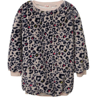 Girls' [3-8] Leopard Print Dress