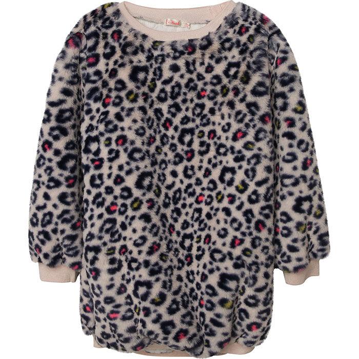 Girls' [3-8] Leopard Print Dress