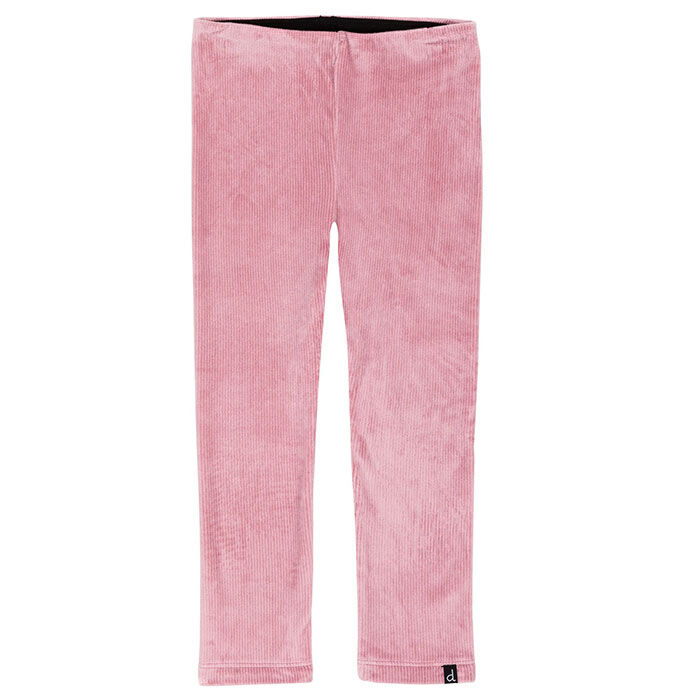 Girls' [3-6] Textured Velvet Legging