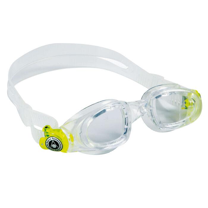 Lunettes de natation Moby à lentilles transparentes