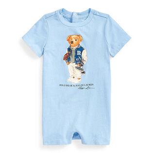 Baby Boys' [0-9M] Polo Bear Jersey Shortall