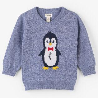 Baby Boys' [6-24M] Dapper Penguin Sweater