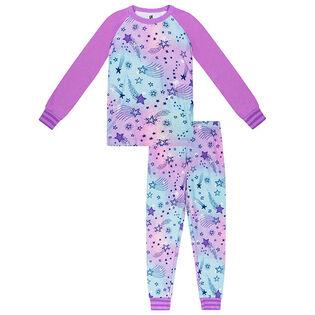 Junior Girls' [8-14] Cosmic Two-Piece Pajama Set