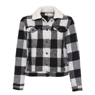 Women's Buffalo Plaid Jacket