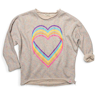 Girls' [4-10] Slouchy Sweatshirt