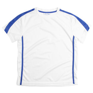 Junior Boys' Blue Crew Top
