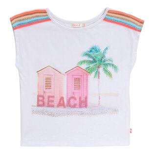 Girls' [3-6] Beach T-Shirt
