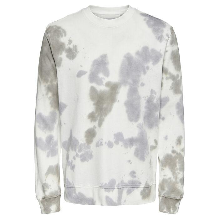 Men's Tie-Dye Crew Sweatshirt