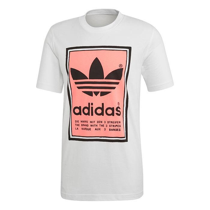 T-shirt Filled Label pour hommes