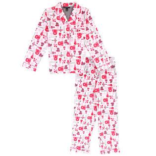 Ensemble pyjama deux pièces Ski Hill pour filles juniors