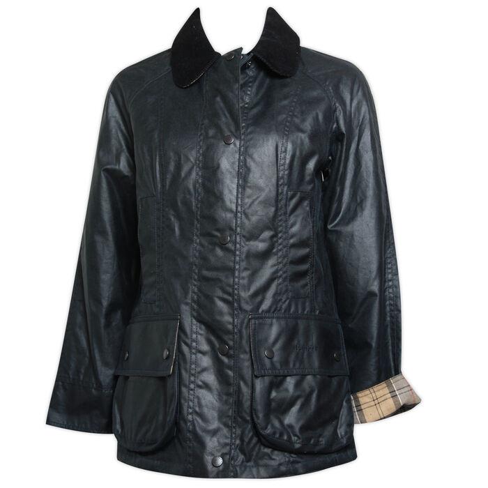 Manteau Beadnell ciré pour femmes