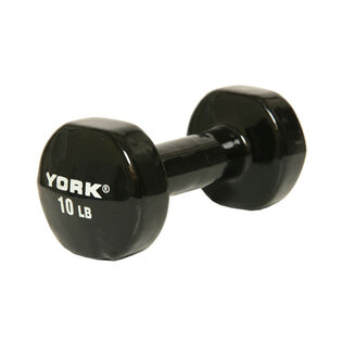 Single 10 Pound Vinyl Dumbbell Weight