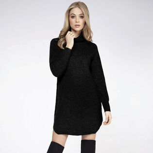 Women's Turtleneck Sweater Dress