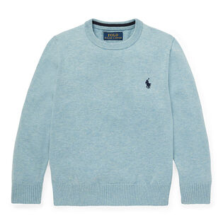ed9354b33 Boys   2-4  Cotton Crew Neck Sweater ...