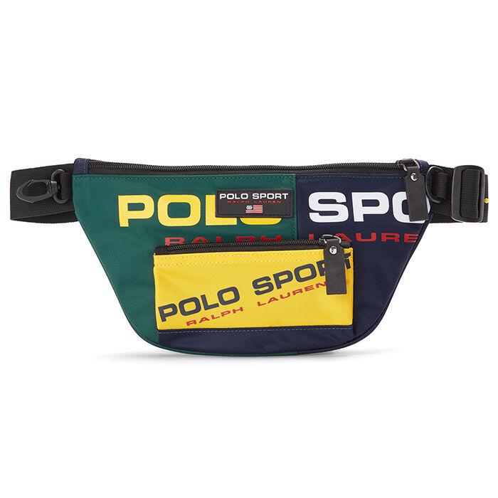 Men's Nylon Polo Sport Waist Pack