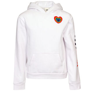 Junior Girls' [8-16] Plush Heart Hoodie
