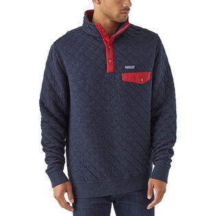 Men's Organic Quilt Snap-T® Pullover Top