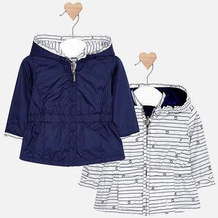 Baby Girls' [0-18M] Reversible Windbreaker Jacket