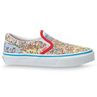 Kids' [11-3] Where's Waldo? Classic Slip-On Shoe