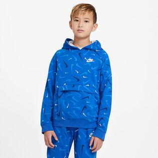 Junior Boys' [8-16] Sportswear Club Printed Pullover Hoodie