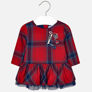 Baby Girls' [12-36M] Checked Dress