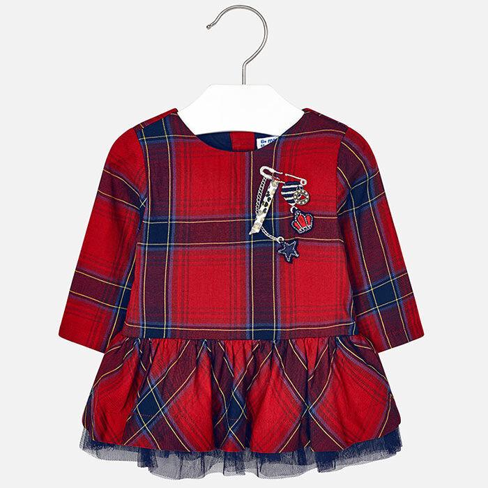 Robe à carreaux pour bébés filles [12-36M]